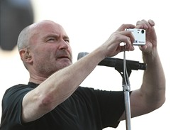 Phil Collins z kapely Genesis