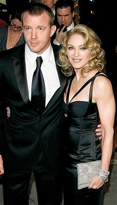 Madonna a Guy Richie