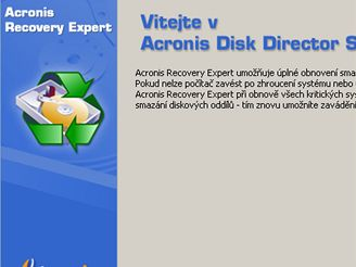 Acronis Disk Director 10 CZ