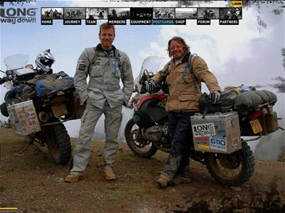 Ewan McGregor a Charley Boorman na cestě zvané Long Way Down