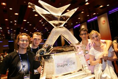 Čeští studenti na Imagine Cup 07