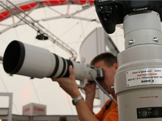 Teleobjektiv Canon 600mm 1:4 L IS USM(IFA 2007)