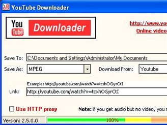 YouTube Downloader 2.5
