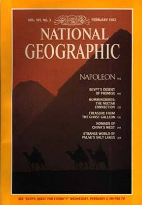 National Geographic - pyramidy 1982