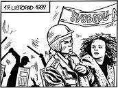 Komiks - LISTOPAD 89