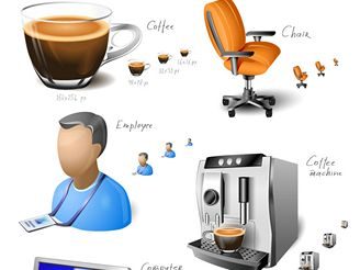 Office Space Icon Set for Windows Vista