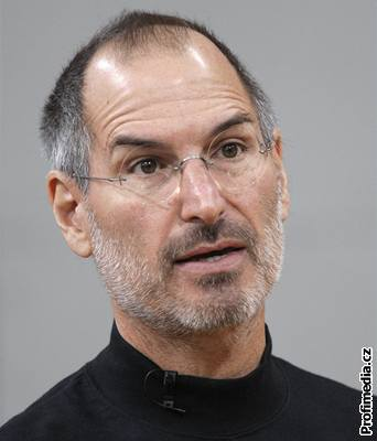 Majitel firmy Apple Steve Jobs