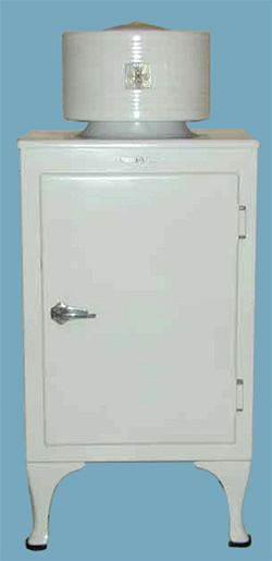 Monitor-style (General Electric format) refrigerator