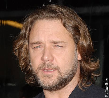 Hollywoodský idol Russell Crowe.