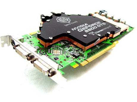 GeForce 8800GTS OC2 WC