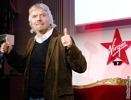 Richard Branson a Virgin