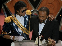 Michael Jackson a Quincy Jones