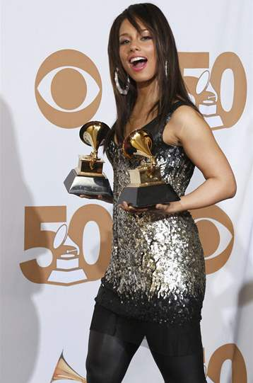 Alicia Keys na cenách Grammy