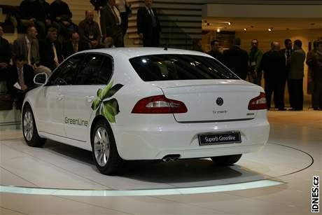 Škoda Superb GreenLine