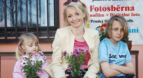 veronika žilková a její děti