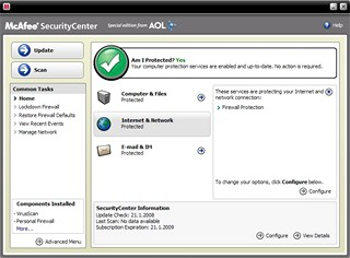 McAfee VirusScan Plus