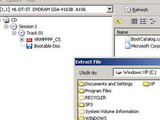 Integrace SP3 do Windows XP