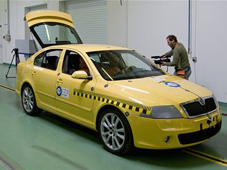 Crashtest Škody Octavia RS