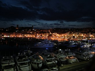 SWPA - Cannes in night