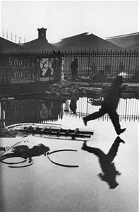 Behind the Gare Saint-Lazare, 1932