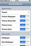 iPhone SummerBoard