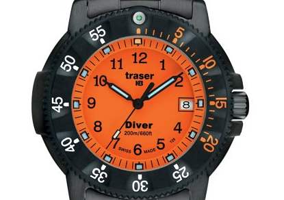 TRASER - Professional P 6504 Diver Orange