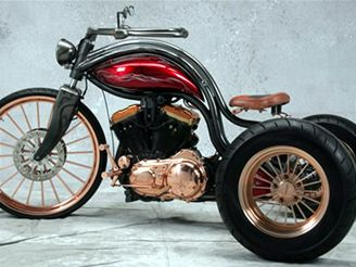 Bobster trike Zeel design