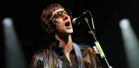 Z festivalu v Glastonbury - Richard Ashcroft ze skupiny The Verve