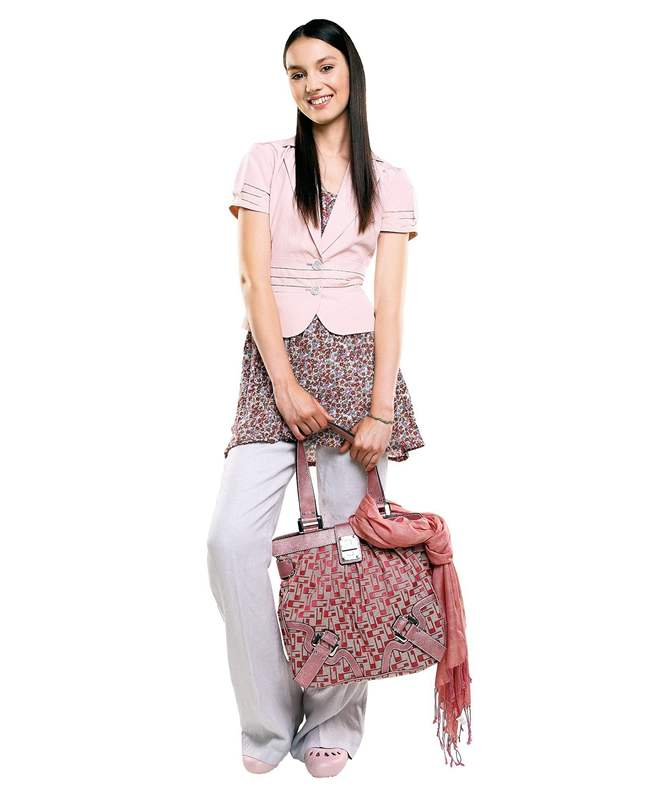 342a386c42fc Letní móda do práce - Lněné volné kalhoty