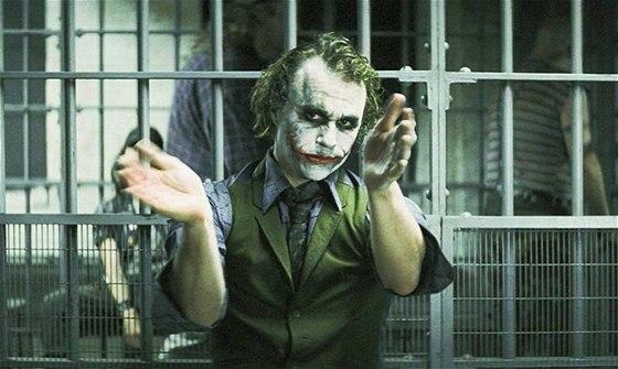 Heath Ledger ve filmu Temný rytíř