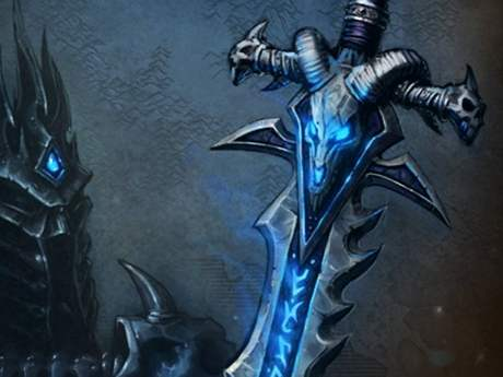 WoW Lich King art