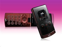 Sony Ericsson W980 Violin Red