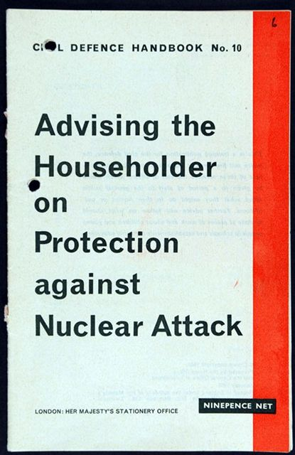 Advising the Householder on Protection against Nuclear Attack