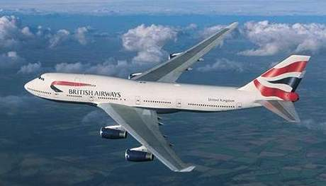 Letadlo British Airways.