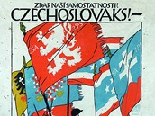 Vojtěch Preissig - Czechoslovaks! Join our free colors! (1916-1918)