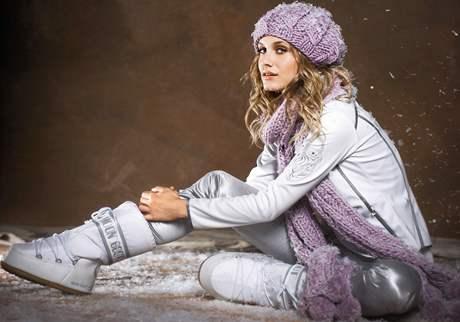 Pletená zimní móda 83c60cf00b