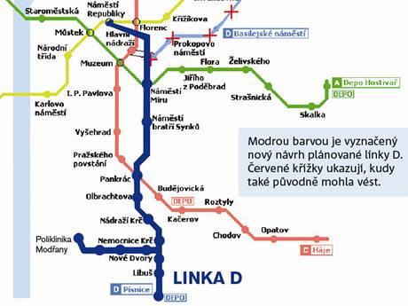 Nova Linka Metra Mine Zizkov Z Pisnice A Modran Povede Do Centra
