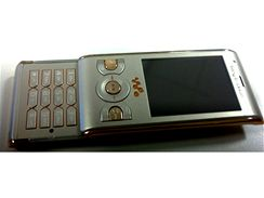 Sony Ericsson W595 Sandy Gold