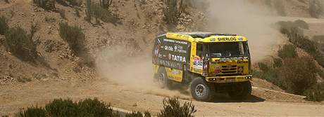 Aleš Loprais patří mezi favority soutěže kamionů.