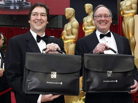 Oscar 2009 - Rick Rosas a Bradem Oltmanns z Price Waterhouse Coopers