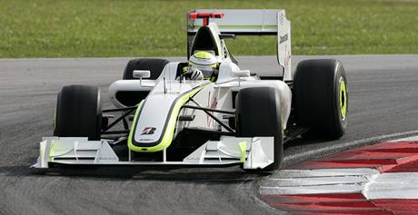 Brawn GP: Jenson Button