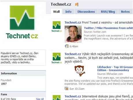Technet na Facebooku