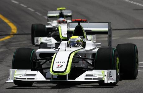 Jenson Button z Brawn GP.