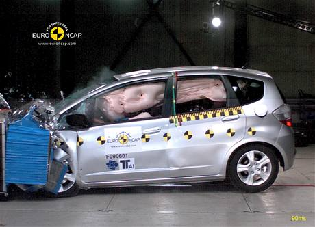 Crashtest Honda Jazz