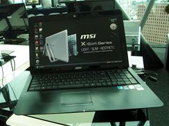 Notebook X600 od MSI