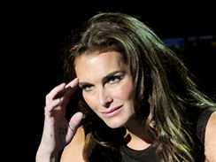 Herečka Brooke Shields