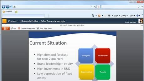 PowerPoint 2010 - náhled pro web
