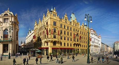 Hotel Kings Court Prague.