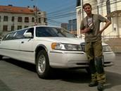 foto: Tomáš Poláček, MF DNES - Stopem na krvavý Kavkaz. Nejluxusnější stop v Rumunsku (foceno mobilem)