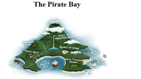 vzkaz The Pirate Bay